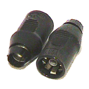 Augat PNL59 push on F connector for RG59