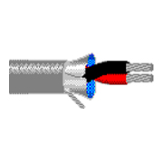 Belden 8451 shielded 2 conductor 22ga stranded cable 1000 foot box