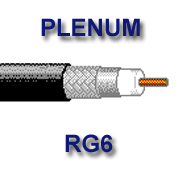 Belden 9116P plenum rated RG6U 1000 foot box
