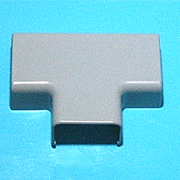 3M 802G-TSP gray Tee for one and one half inch wire duct