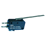 Philmore 30-18205 SPDT 10A miniature snap action switch with long lever on-on