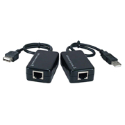 QVS USB CAT5-6 Active Repeater for Up to 165ft