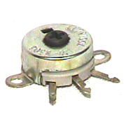 TRW 117R251A 250 ohm flange mount pot